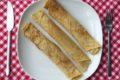 Dutch vegan crepes pannenkoeken