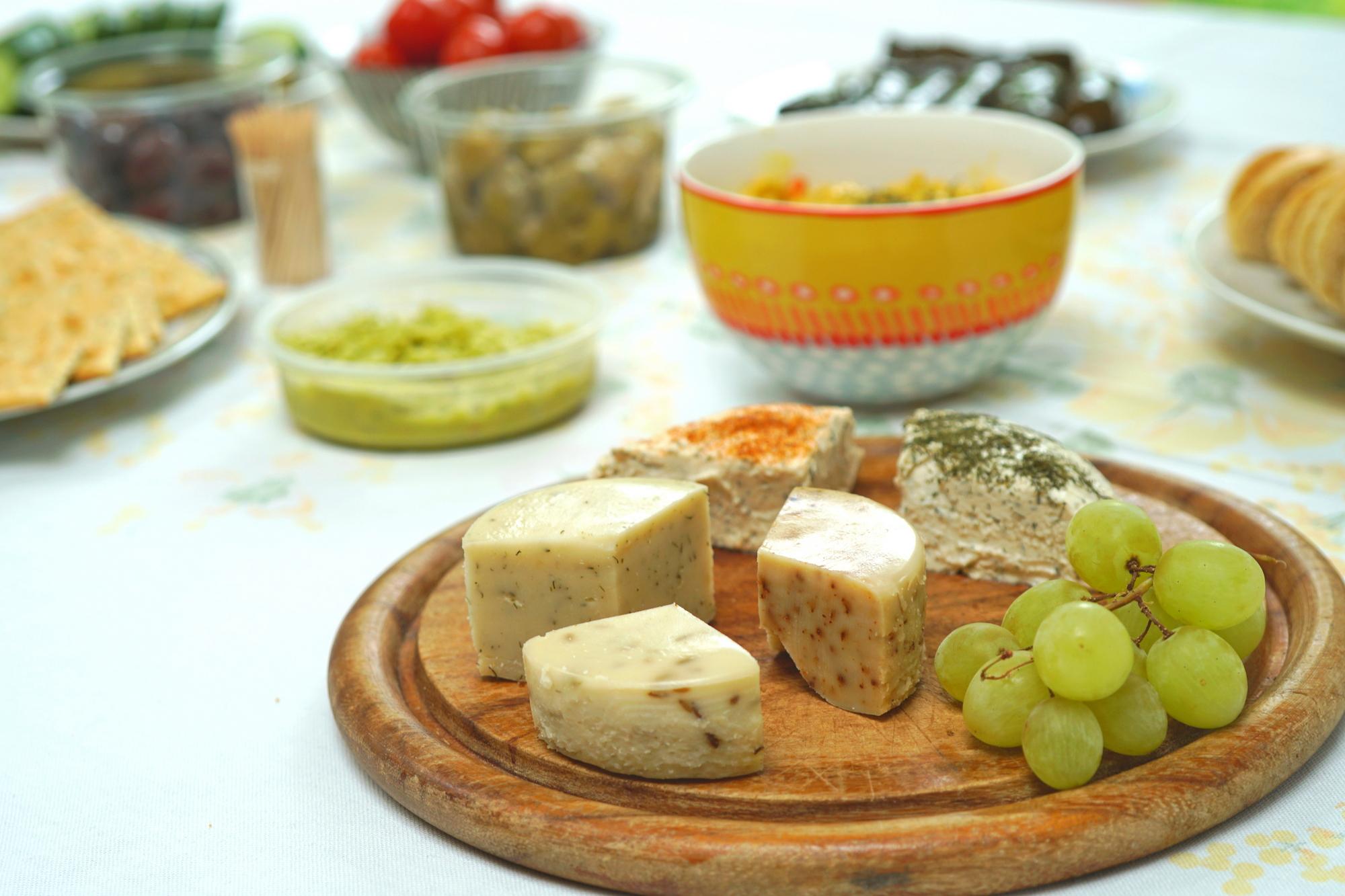 vegan plant-based cheese workshop