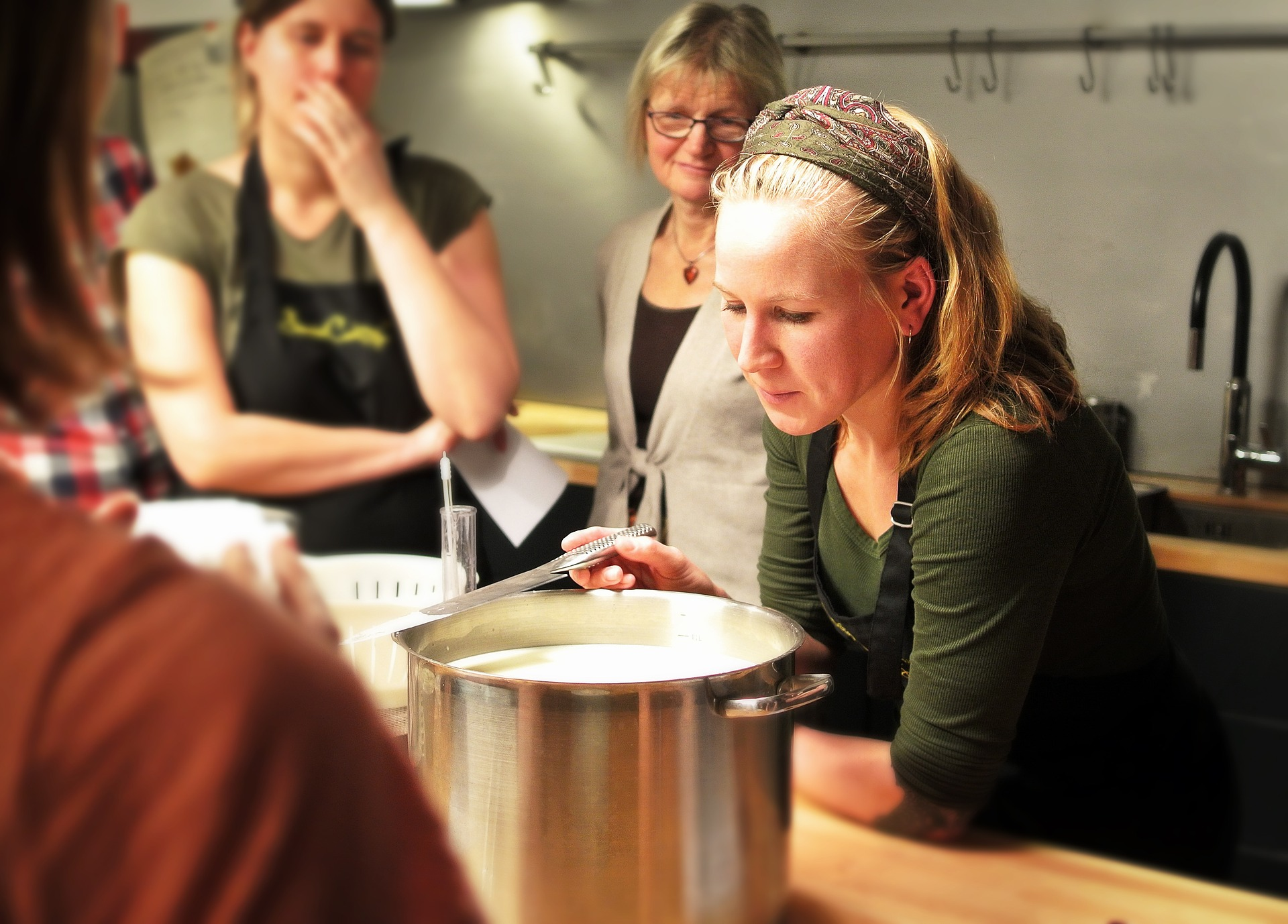 vegan plant-based cooking workshop cheese seitan