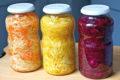 Homemade sauerkraut, flavors