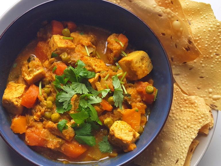 Vegan Thai tofu curry