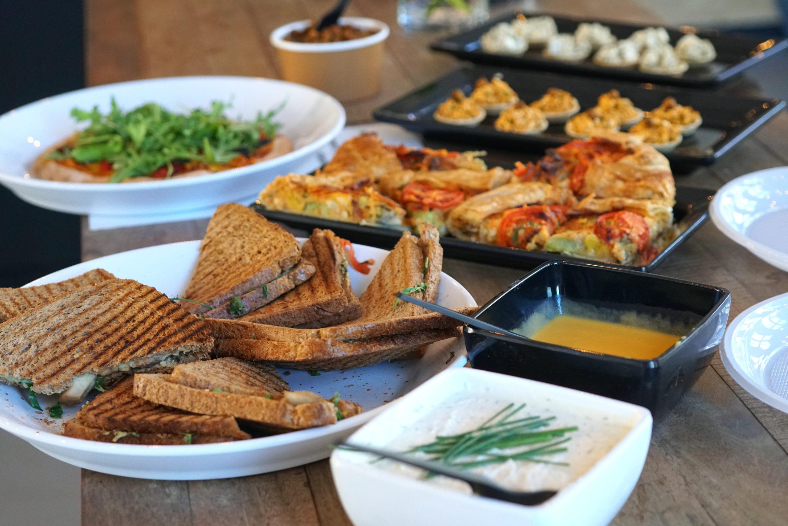 Vegan catering workshops