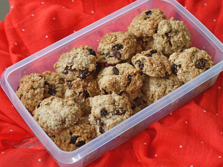Oatmeal cookies vegan